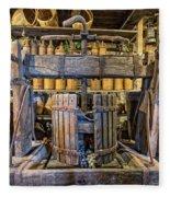 Old Wine Press 2 Fleece Blanket