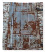 Old World Door Fleece Blanket