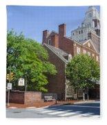 Olde City Tavern  - Philadelphia Pa Fleece Blanket