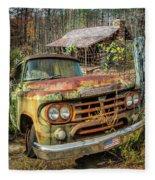 Oldie But Goodie 1959 Dodge Pickup Truck Fleece Blanket