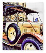 Oldtimer 2 Fleece Blanket