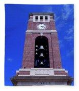 Ole Miss Bell Tower Fleece Blanket