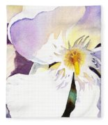 Oleander Flower By Irina Sztukowski Fleece Blanket