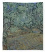 Olive Grove Saint Remy De Provence  June 1889 Vincent Van Gogh 1853  1890 Fleece Blanket