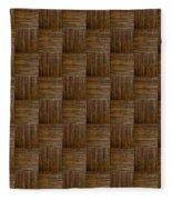 Olive Texture Study Fleece Blanket