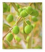 Olives Fleece Blanket