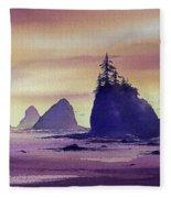 Olympic Seashore Fleece Blanket