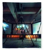 Olympus Photography Playground Berlin 2014 Fleece Blanket