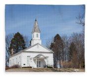 Omena Presbyterian Church Fleece Blanket