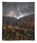 Ominous Skies Fleece Blanket