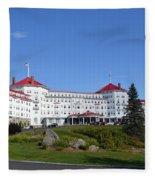 Omni Mount Washington Resort Fleece Blanket
