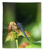 On A Leaf Fleece Blanket