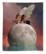 On A Wing And A Prayer Fleece Blanket