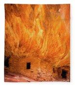 On Fire Fleece Blanket