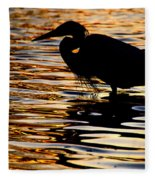 On Golden Pond Fleece Blanket