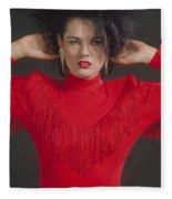 On The Fringe Fleece Blanket
