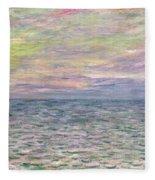 On The High Seas Fleece Blanket