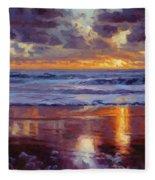 On The Horizon Fleece Blanket