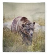 On The Prowl Fleece Blanket