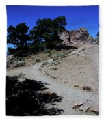 On The Road To Virginia City Nevada 16 Fleece Blanket