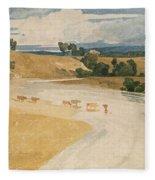 On The Tees At Rockcliffe Fleece Blanket