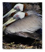 On Their Nest Fleece Blanket