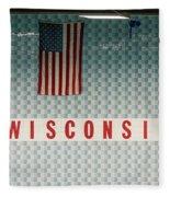 On Wisconsin  Fleece Blanket
