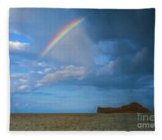 Once In A  Lullaby Fleece Blanket