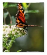 Once Upon A Butterfly 006 Fleece Blanket