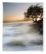 One Against The Tides Fleece Blanket