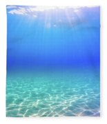 One Deep Breath Fleece Blanket