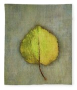 One Leaf Beauty Fleece Blanket