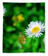 One Little Wildflower Fleece Blanket