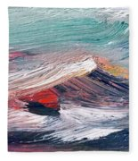 Wave Mountain Fleece Blanket