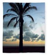 One Palm Fleece Blanket
