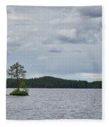 One Pine Island. Koirajarvi Fleece Blanket