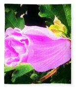 One Pretty Flower Fleece Blanket