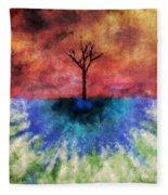 One Tree Fleece Blanket