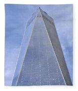 One World Trade Center New York City Fleece Blanket
