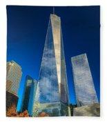 One World Trade Center Fleece Blanket