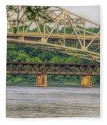 O'neil Bridge4 Fleece Blanket
