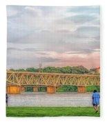 O'neil Bridge5 Fleece Blanket
