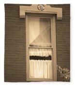 Jonesborough Tennessee - One Window Fleece Blanket