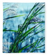 Only The Wind Knows Fleece Blanket
