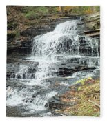 Onondaga 6 - Ricketts Glen Fleece Blanket