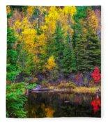 Ontario Tarn Fleece Blanket