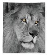 Onyo #19 Black And White  T O C Fleece Blanket