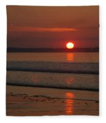 Oob Sunrise 2 Fleece Blanket