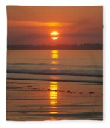 Oob Sunrise 3 Fleece Blanket