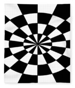 Op Art Fleece Blanket